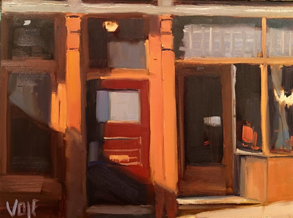 """#387 Duluth Doors"" original fine art by Patty Voje"