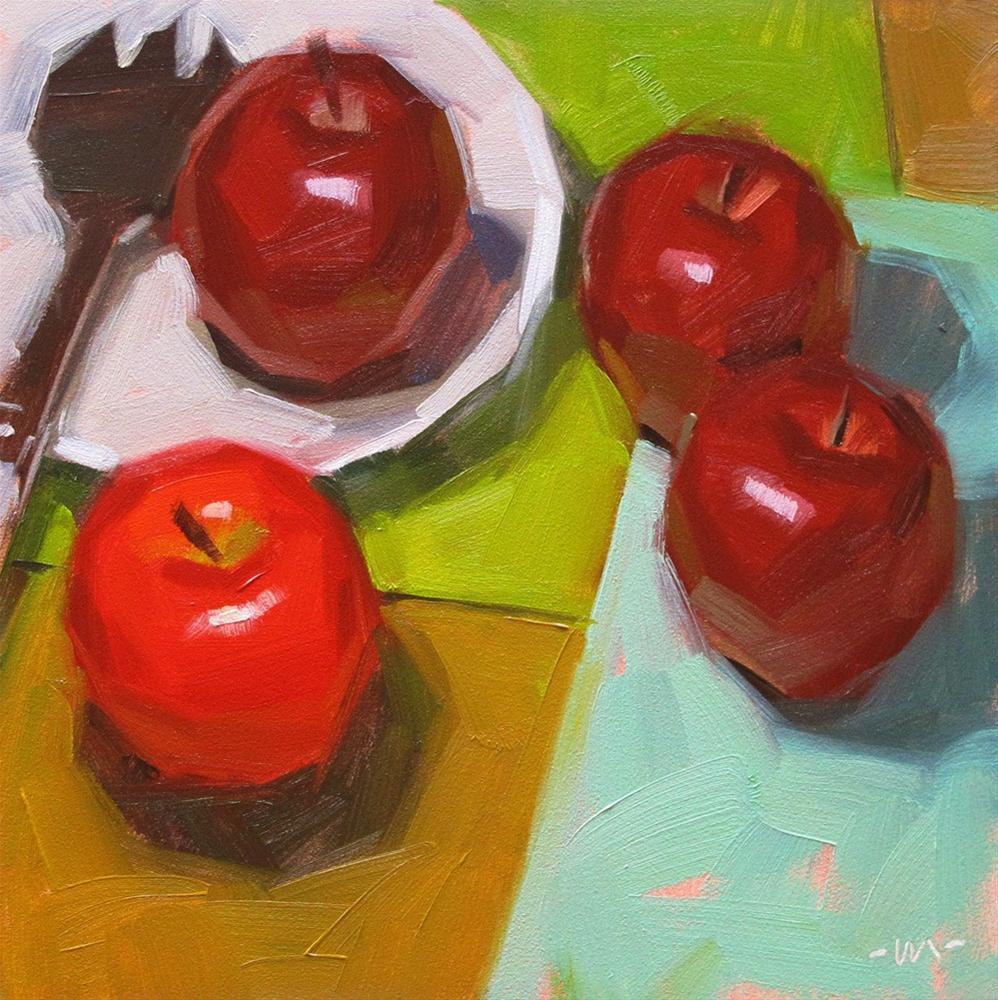 """""""Silly Sunburn"""" original fine art by Carol Marine"""