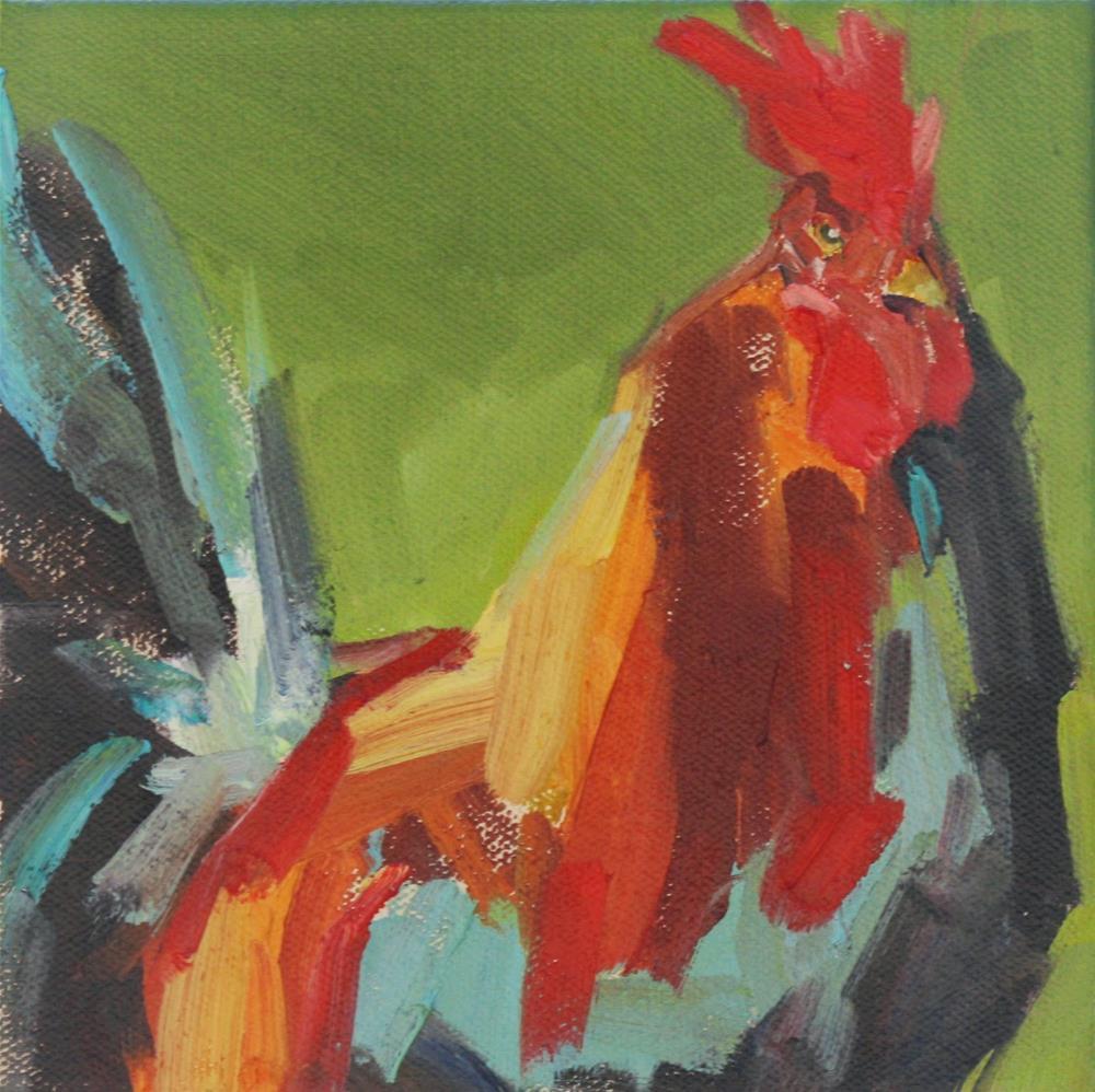 """""""i go back"""" original fine art by Carol Carmichael"""