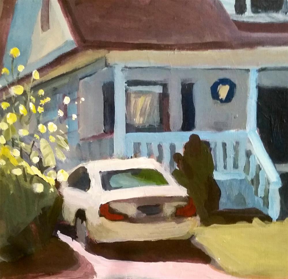 """Sun Porch"" original fine art by Liz Maynes"
