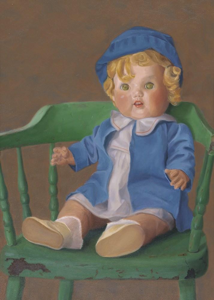 """Grandmother's Doll"" original fine art by Susan Fern"