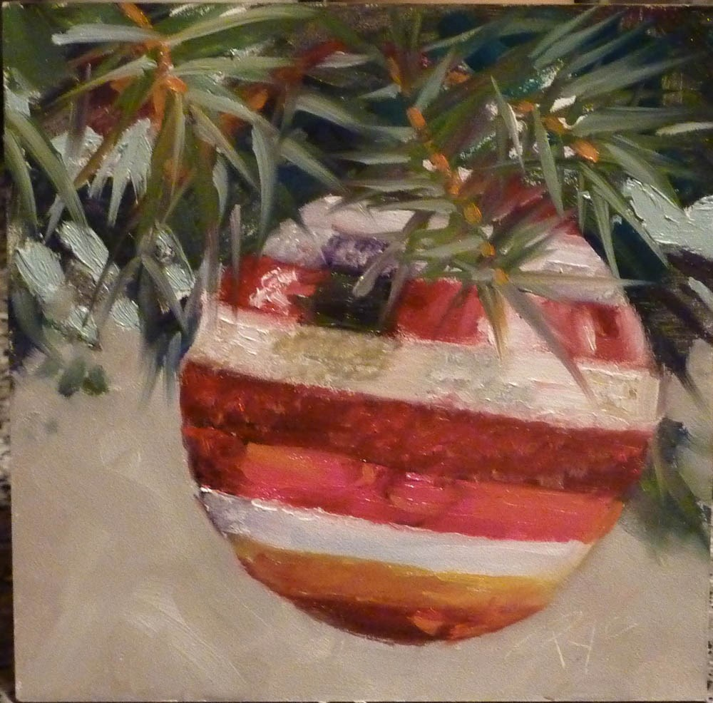 """Ornament"" original fine art by Mary Pyche"