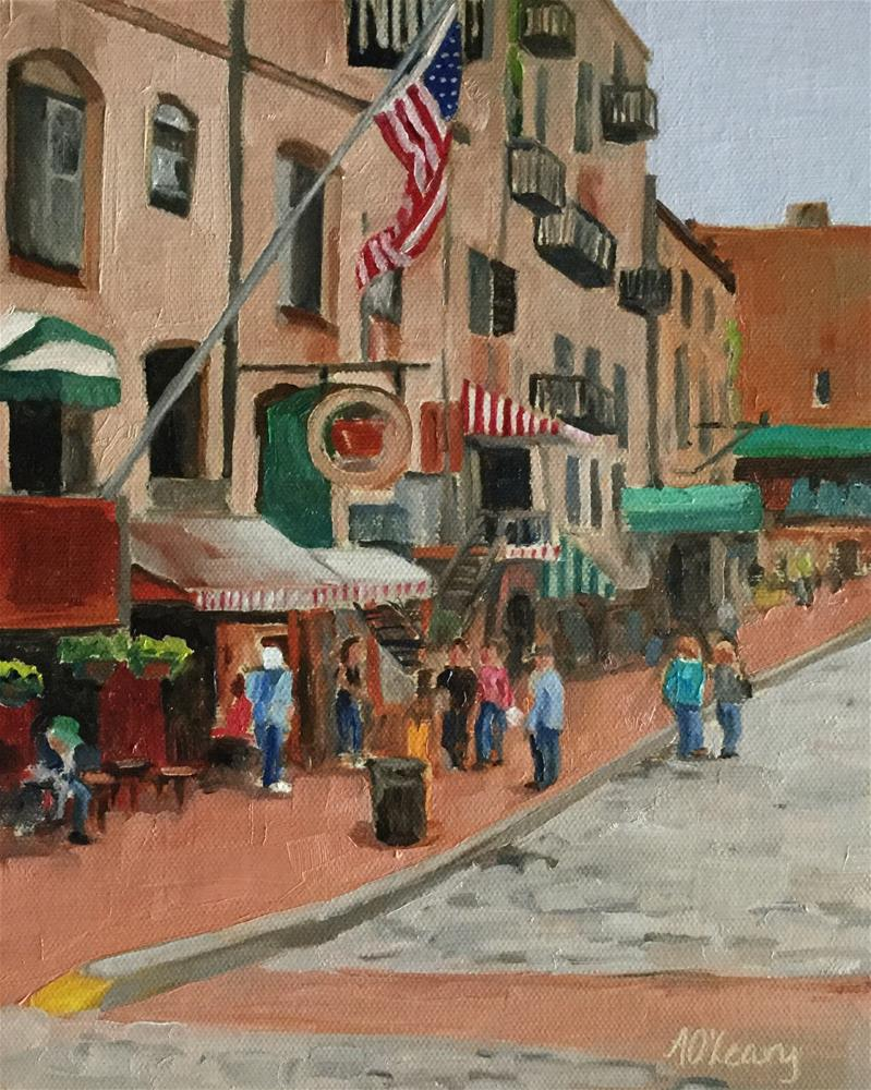 """Strolling Savannah"" original fine art by Alice O'Leary"