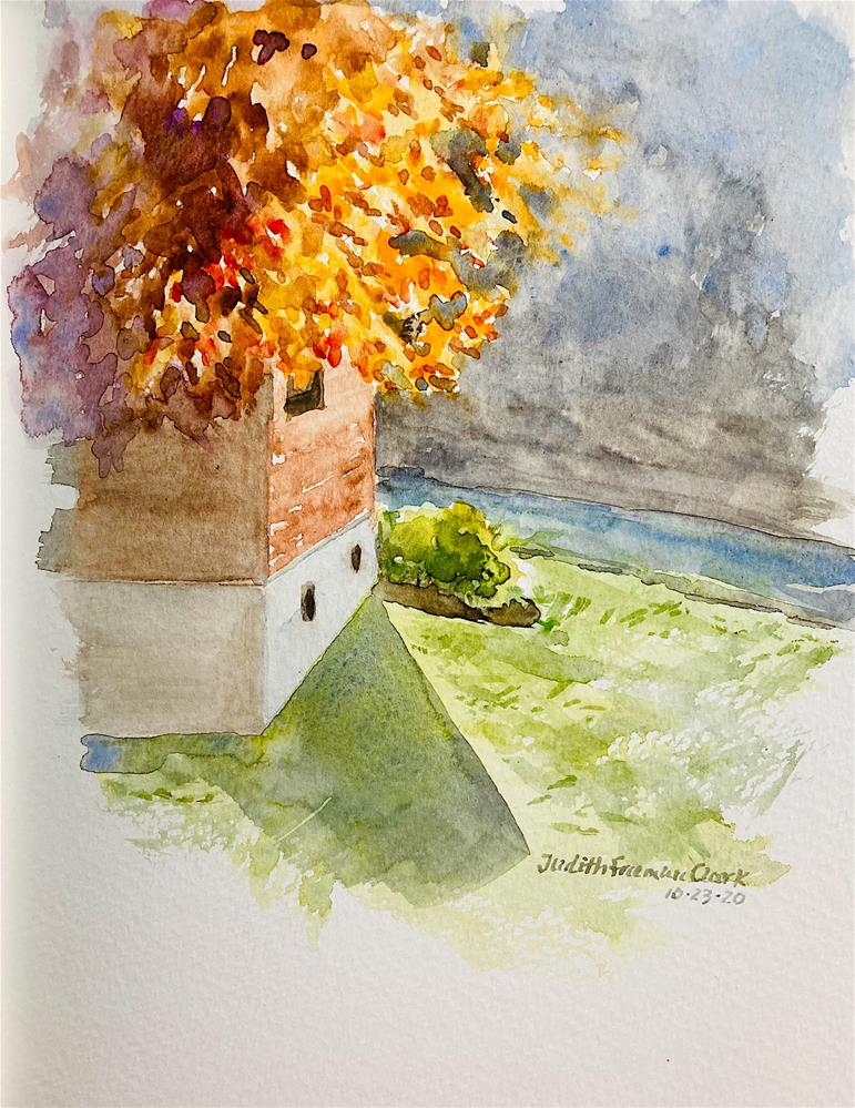 """Shirley's House"" original fine art by Judith Freeman Clark"