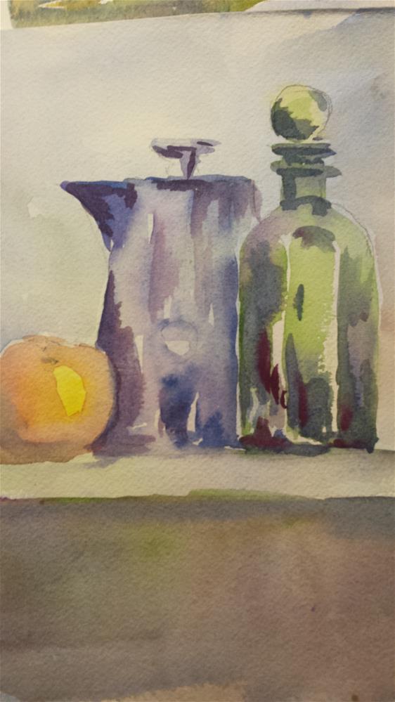 """Rainy Day Still Life II"" original fine art by angela scully"