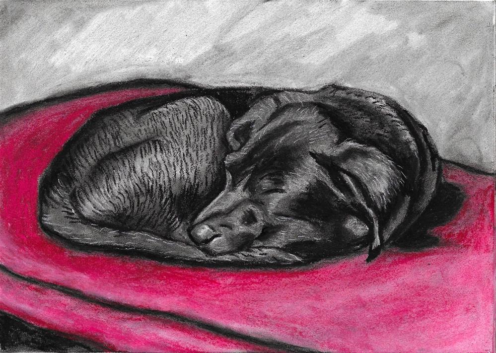 """""""At Rest"""" original fine art by Lisa Wiertel"""