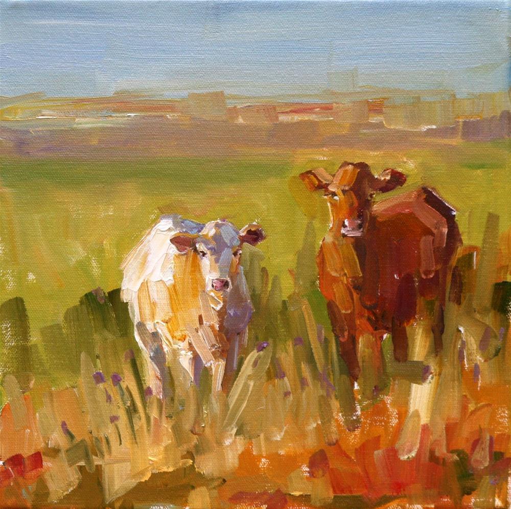 """""""break of dawn"""" original fine art by Carol Carmichael"""