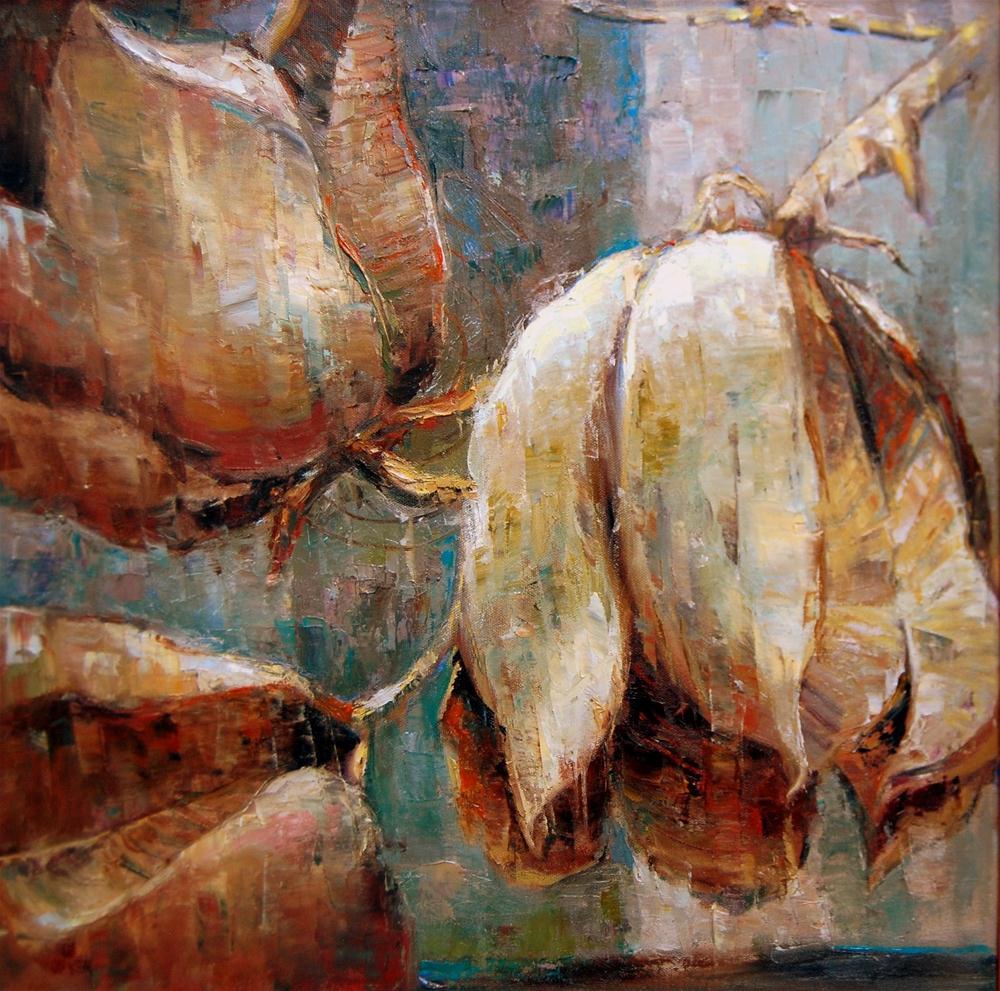 """""""Desert Pods"""" original fine art by Julie Ford Oliver"""