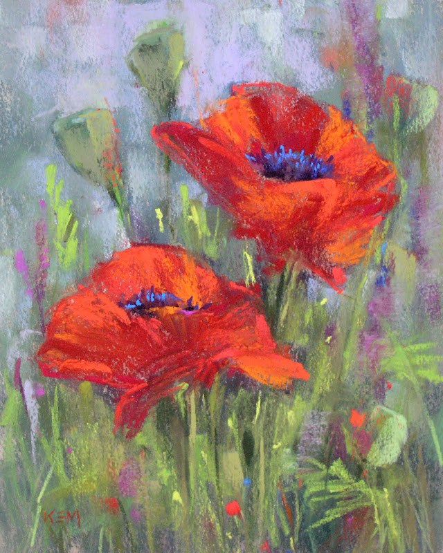 """""""Top 5 Posts of 2012....The Magic of a Dry Underpainting"""" original fine art by Karen Margulis"""