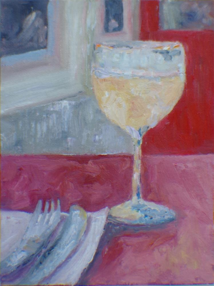 """Vacation begins"" original fine art by Helen Viebrock Hamel"