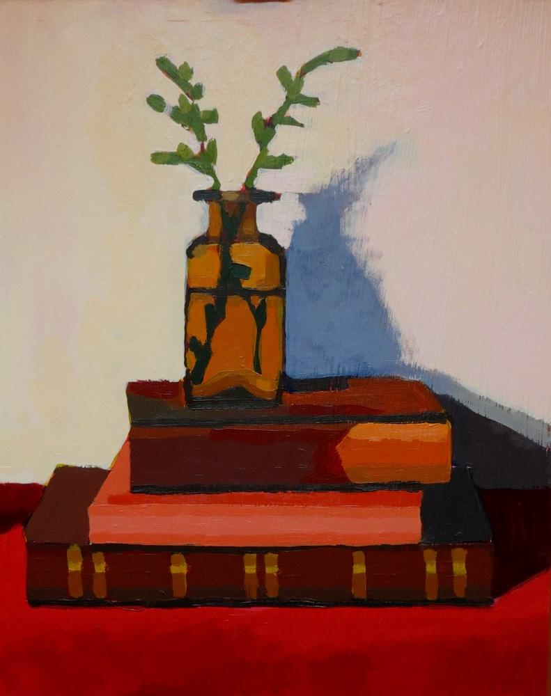 """Wildflowers"" original fine art by Joan Wiberg"