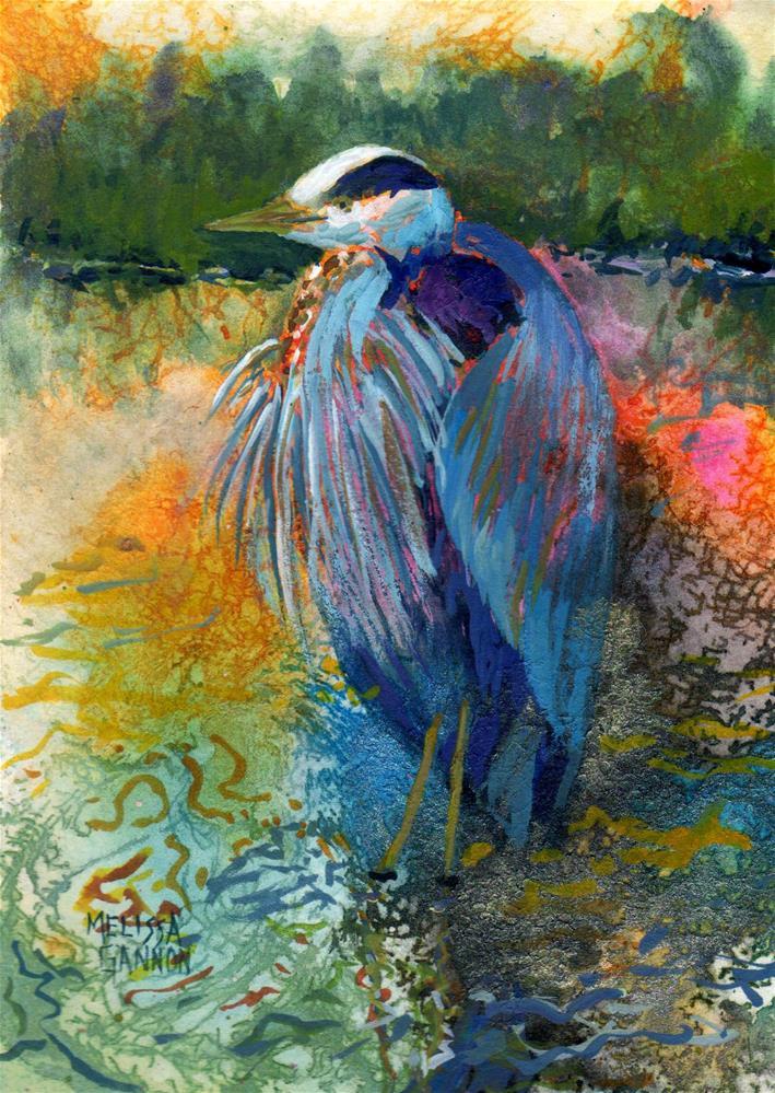 """Solitude"" original fine art by Melissa Gannon"
