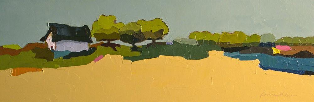 """""""Color of the Land"""" original fine art by Donna Walker"""