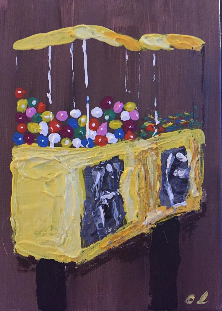 """Gum?"" original fine art by Cheree Apalona Lueck"
