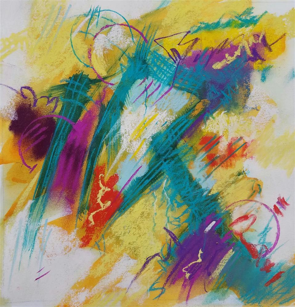 """""""Jazz 103"""" original fine art by Cindy Haase"""
