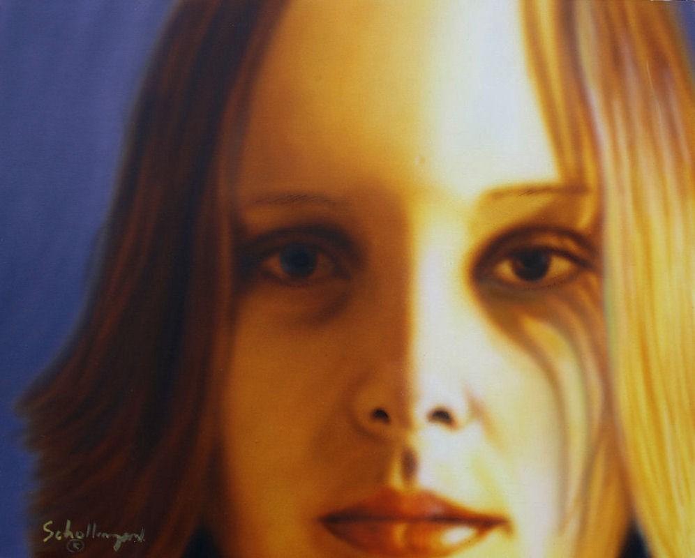 """""""Jessie # 8"""" original fine art by Fred Schollmeyer"""