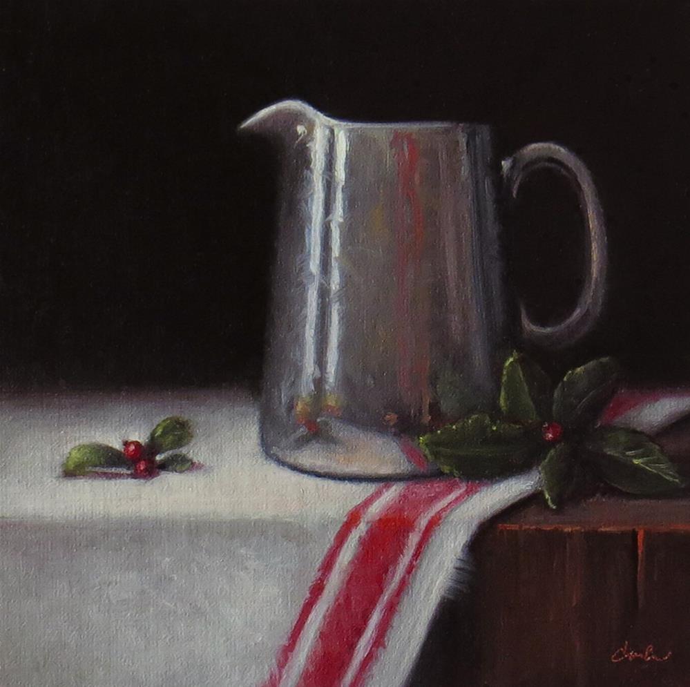 """Christmas Morning"" original fine art by Darla McDowell"