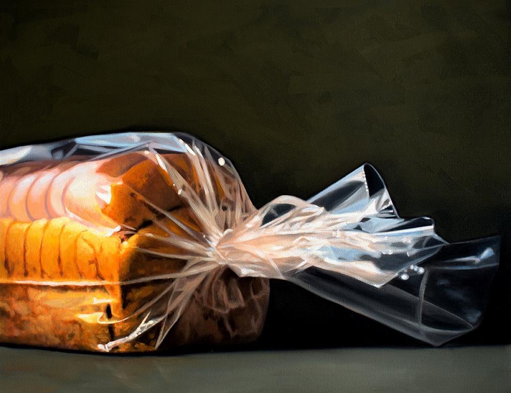 """Fresh Baked Bread"" original fine art by Lauren Pretorius"