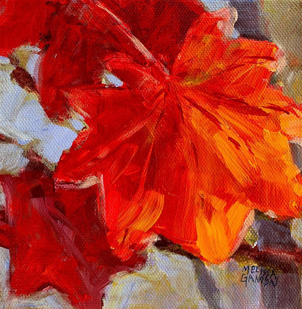 """""""Autumn Cheer"""" original fine art by Melissa Gannon"""