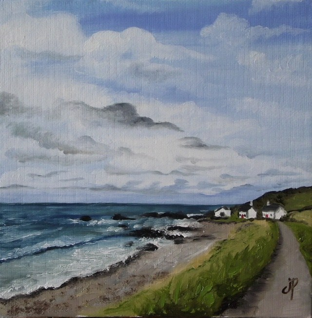 """Scotish Seascape"" original fine art by Jane Palmer"