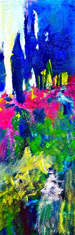"""Italian Forest"" original fine art by Reveille Kennedy"