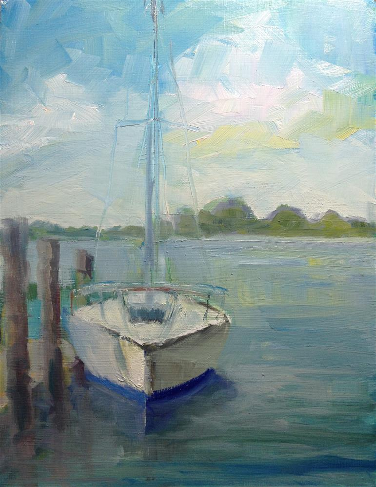 """Morning Sail"" original fine art by Carol Josefiak"