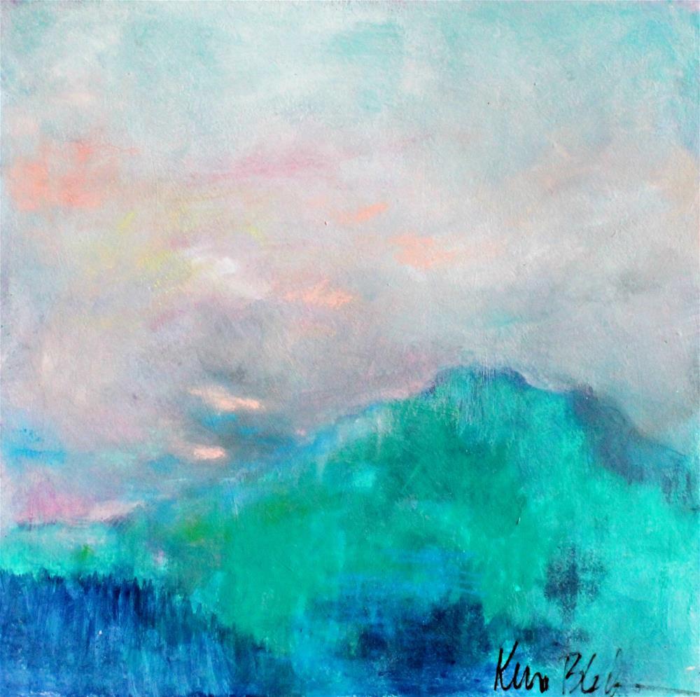 """""""Soft Green Hills"""" original fine art by Kerri Blackman"""
