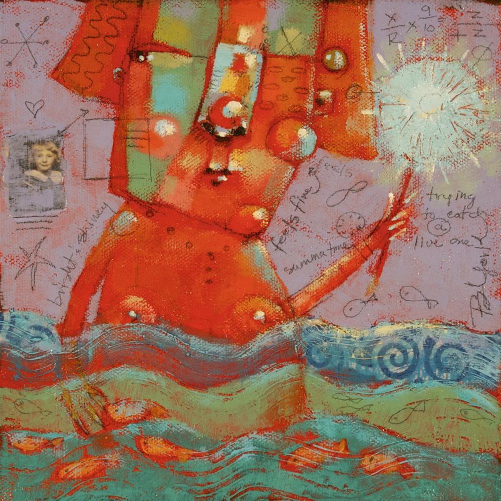 """Au Naturel"" original fine art by Brenda York"