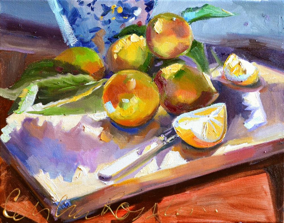 """SUURLEMOENE"" original fine art by Cecilia Rosslee"
