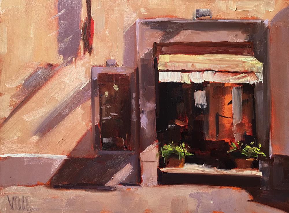 """#278 Florence Shop"" original fine art by Patty Voje"