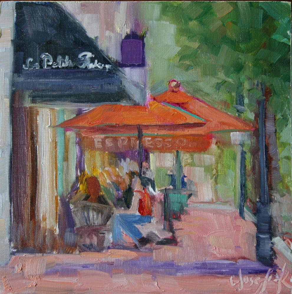 """""""La Petit"""" original fine art by Carol Josefiak"""