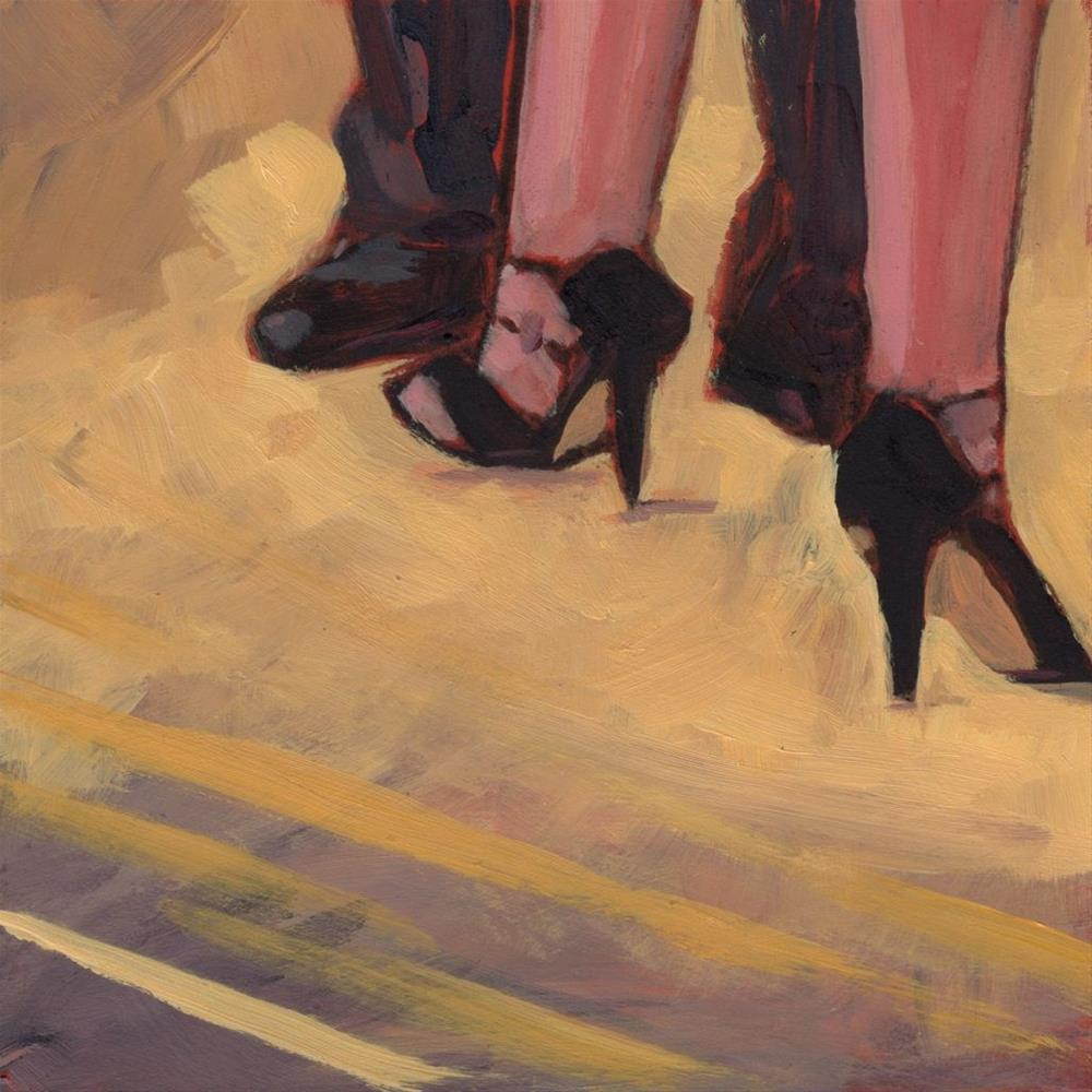 """0389: Two to Tango"" original fine art by Brian Miller"