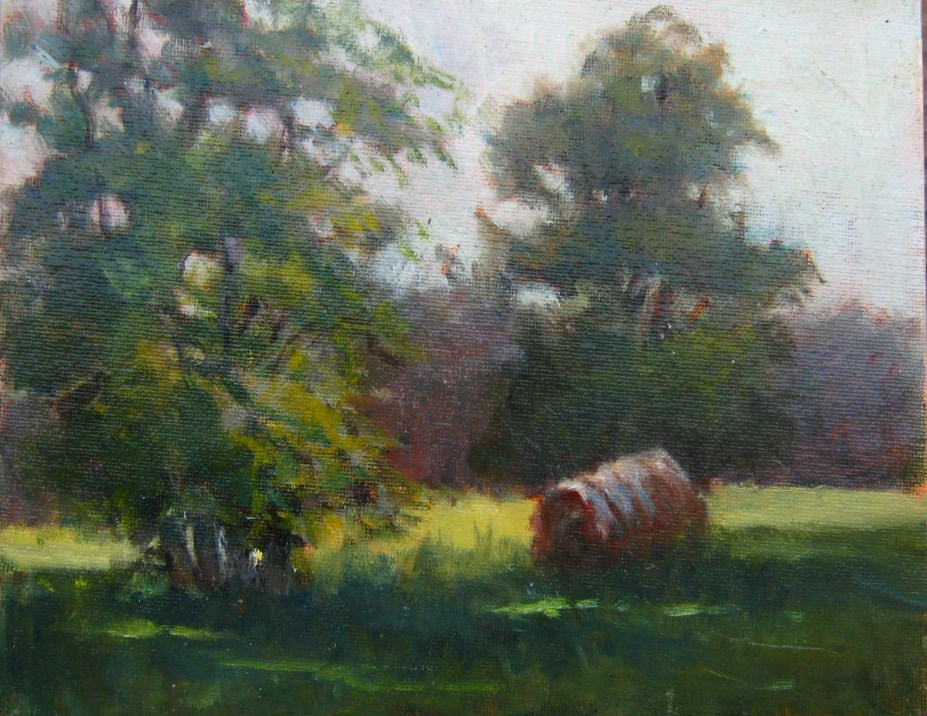 """""""A Summer Afternoon"""" original fine art by Connie Snipes"""
