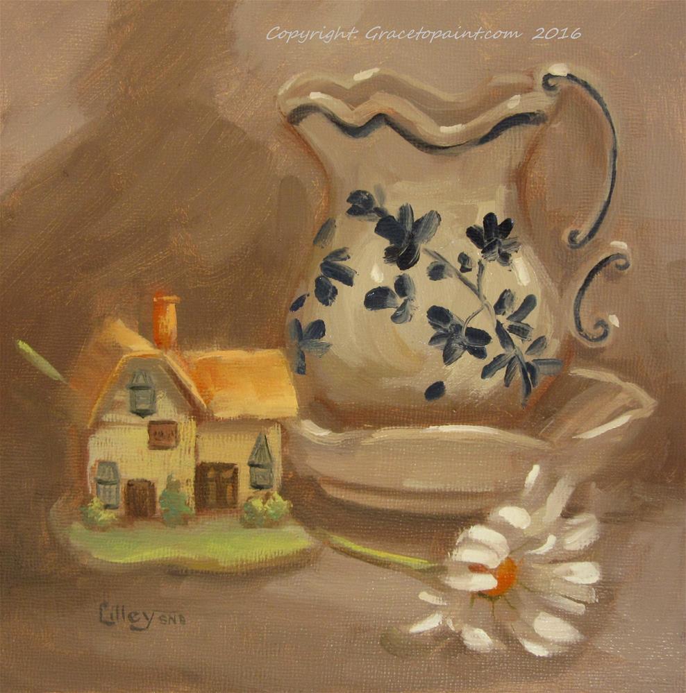 """At Home"" original fine art by Maresa Lilley"