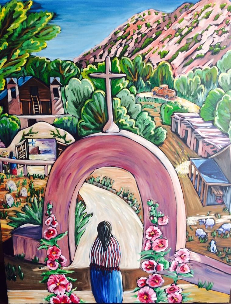 """""""The Entrance"""" original fine art by Robyn Wellman"""