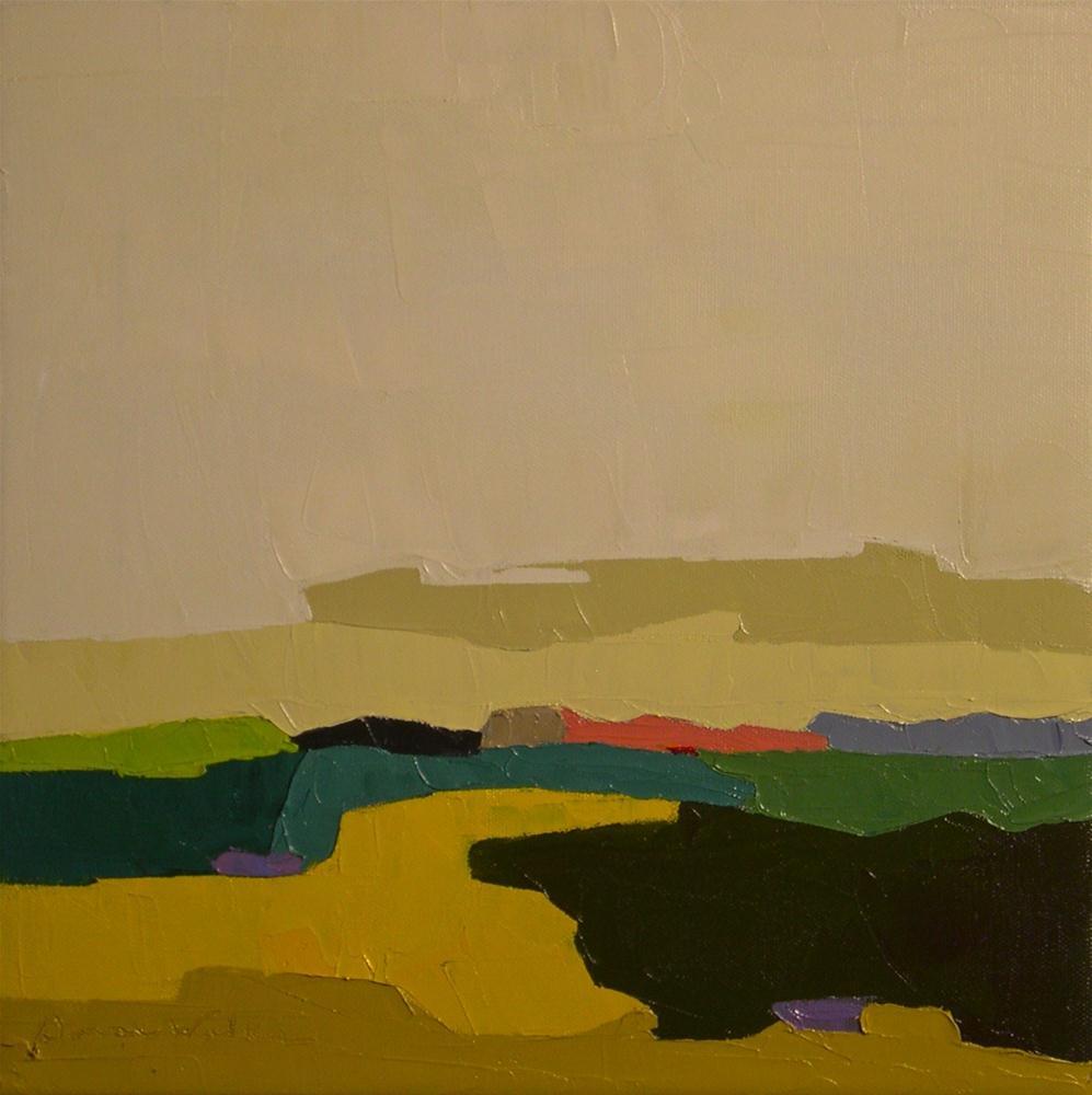 """""""Terrain VII"""" original fine art by Donna Walker"""