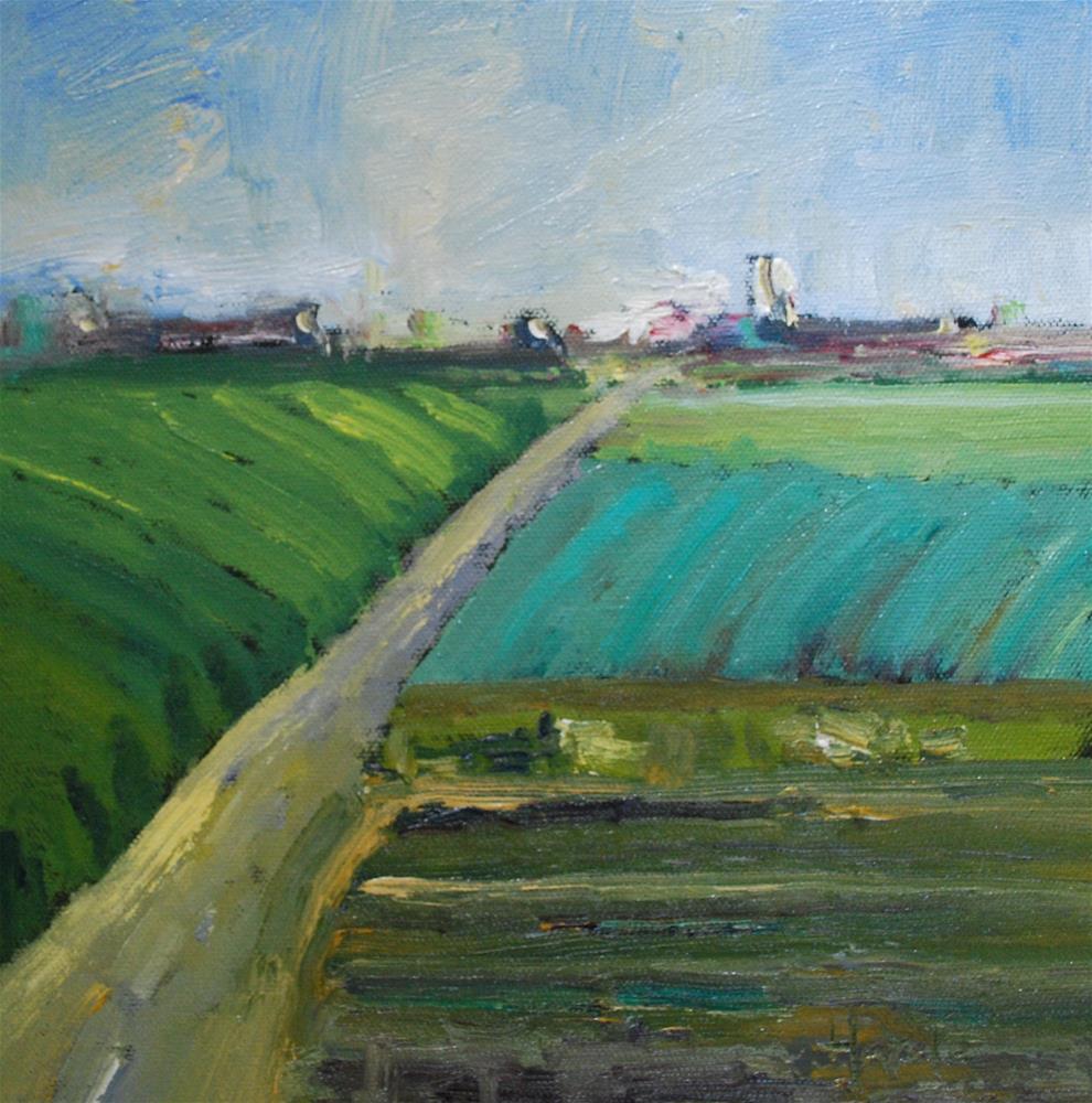 """""""Central Valley"""" original fine art by Deborah Harold"""
