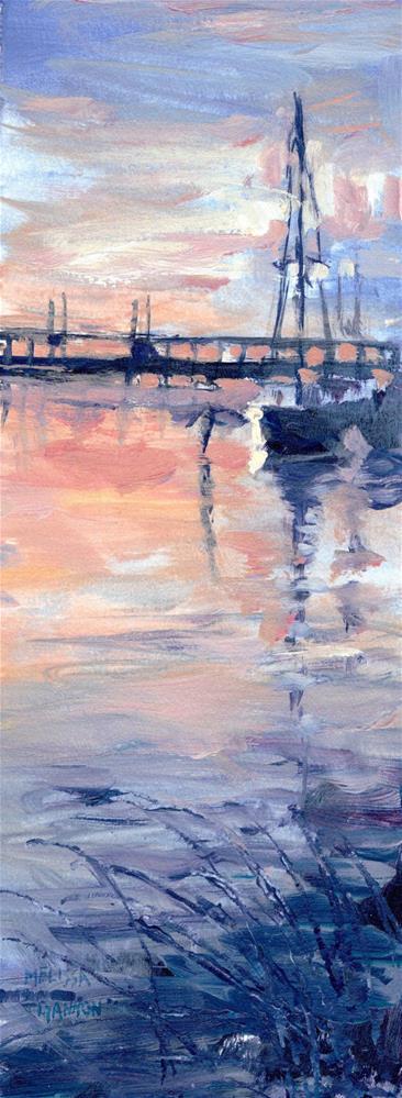 """""""Sunset in Sweden"""" original fine art by Melissa Gannon"""