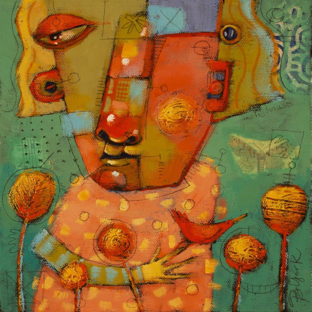 """Babe In The Woods"" original fine art by Brenda York"