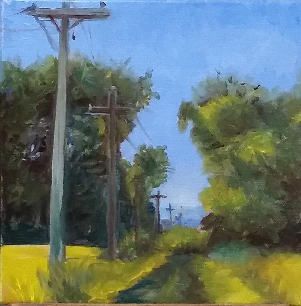 """MeGill Lane"" original fine art by Catherine Kauffman"