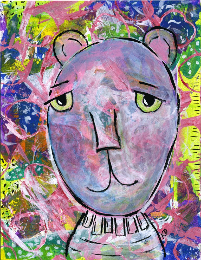 """I Sigh..."" original fine art by Kali Parsons"
