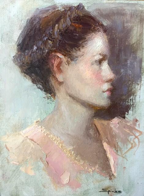 """Blush"" original fine art by Johanna Spinks"