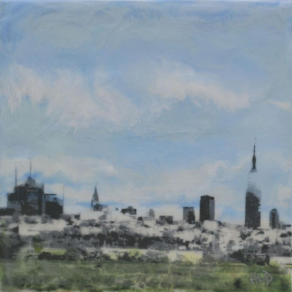 """Urban Distance"" original fine art by Heather Douglas"