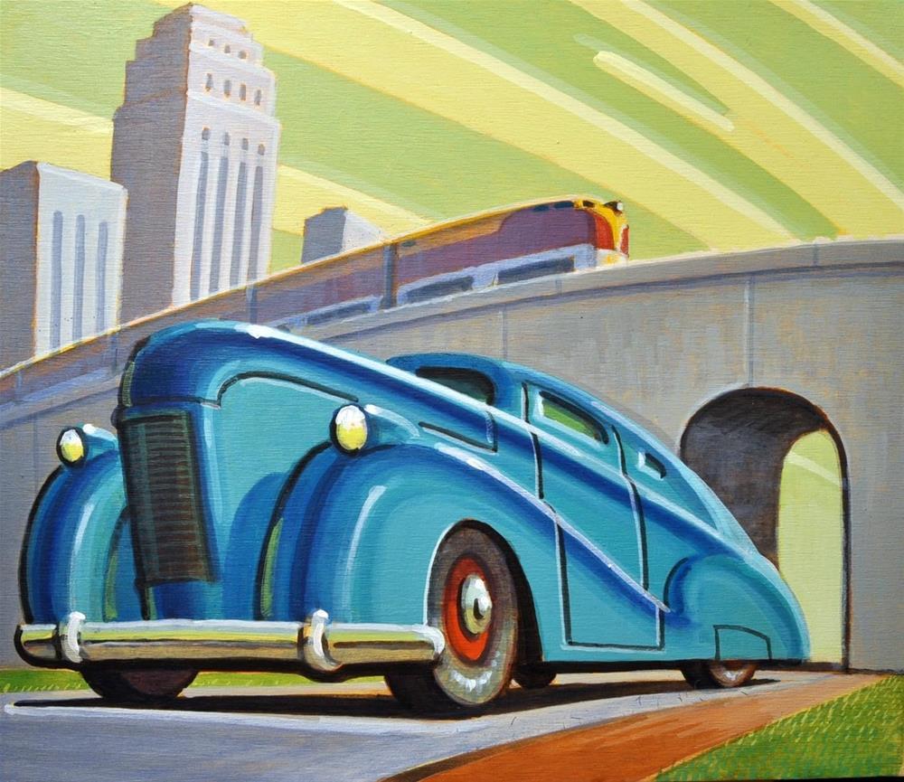 """""""Overpass"""" original fine art by Robert LaDuke"""