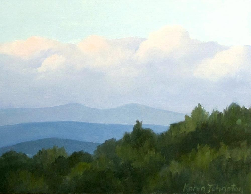 """""""Late Evening Softness"""" original fine art by Karen Johnston"""