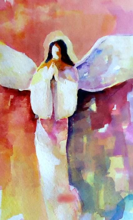 """Faithful"" original fine art by Laurie Mueller"