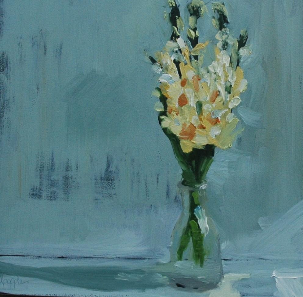 """SPRING FLOWERS"" original fine art by Linda Popple"
