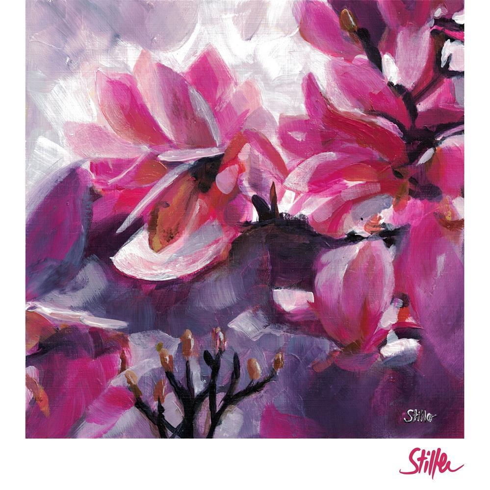 """""""3523 Pink Magnolia"""" original fine art by Dietmar Stiller"""