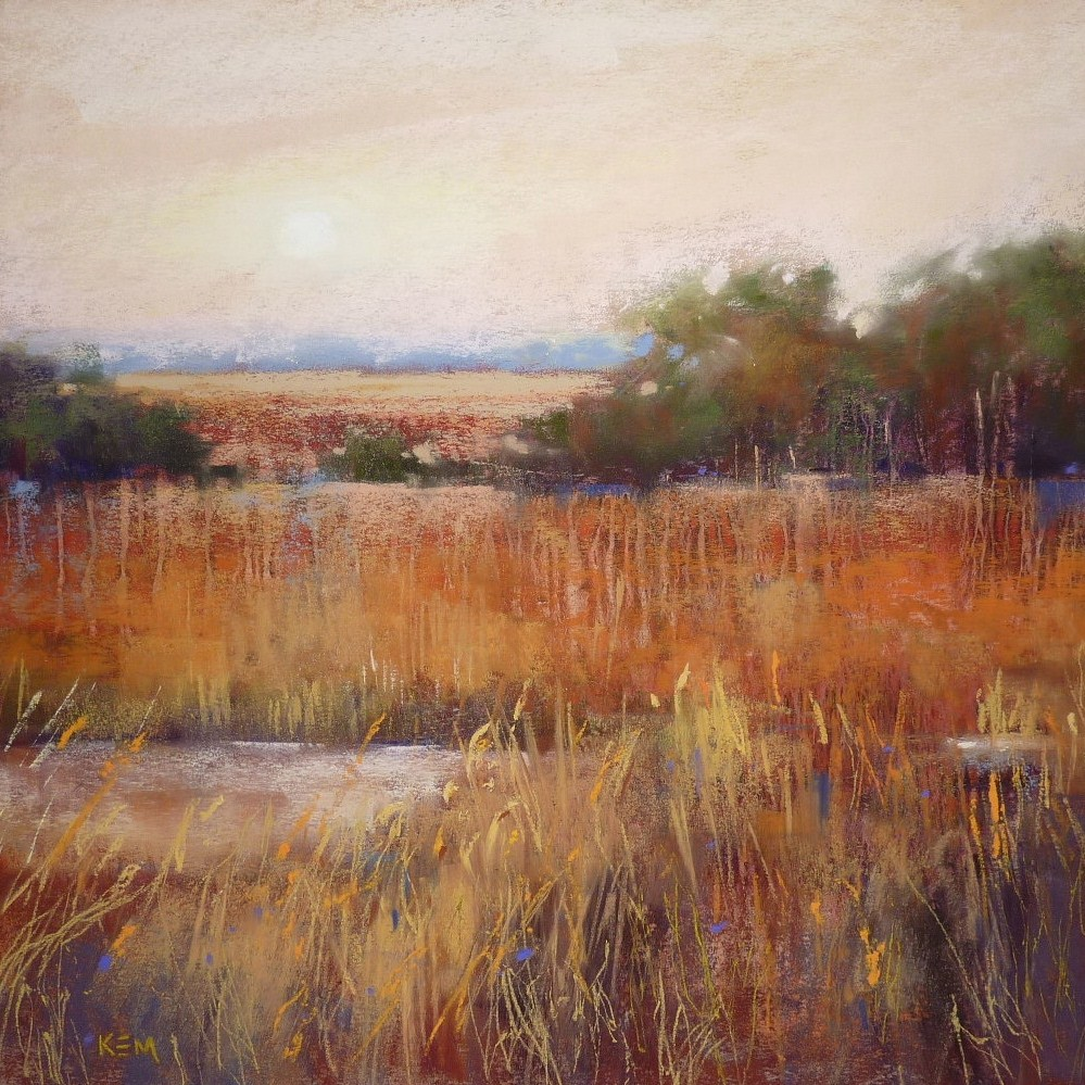 """G is for Grass...My Favorite Tips for Painting Grasses"" original fine art by Karen Margulis"