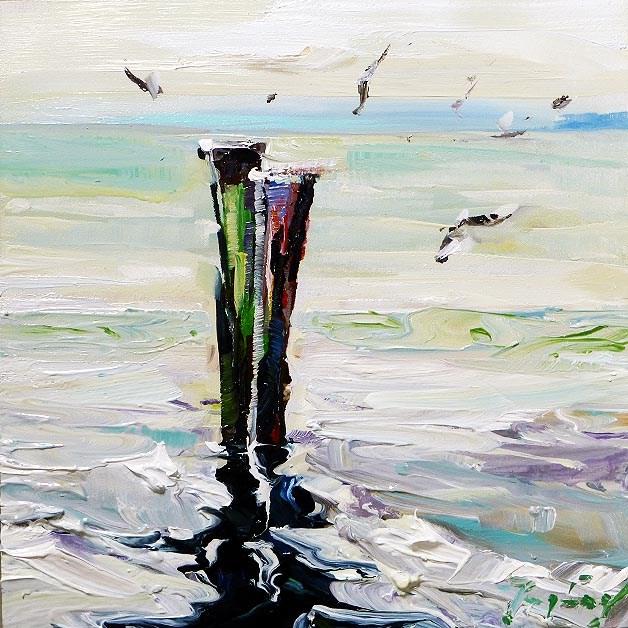 """""""Boden Sea"""" original fine art by Jurij Frey"""